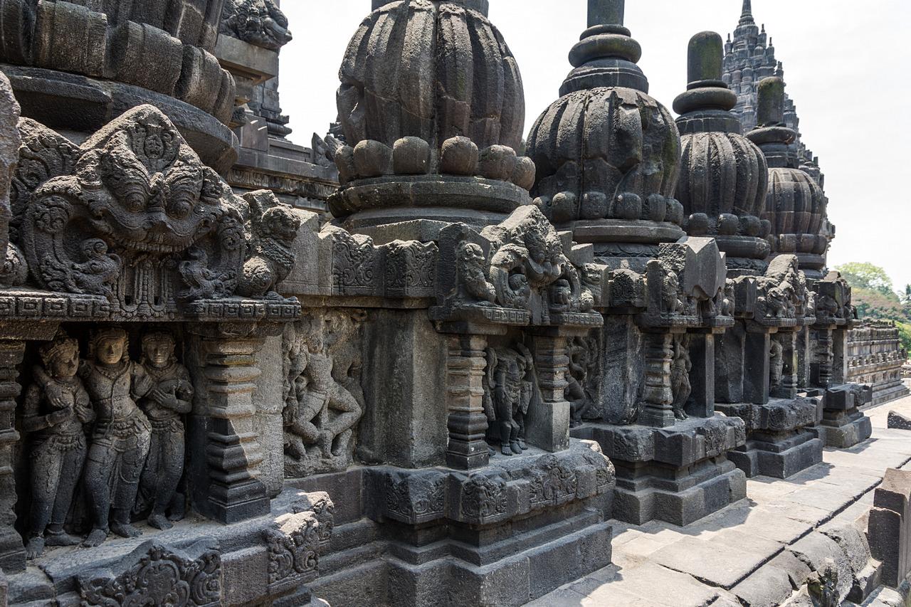Prambanan dekoracje świątyni