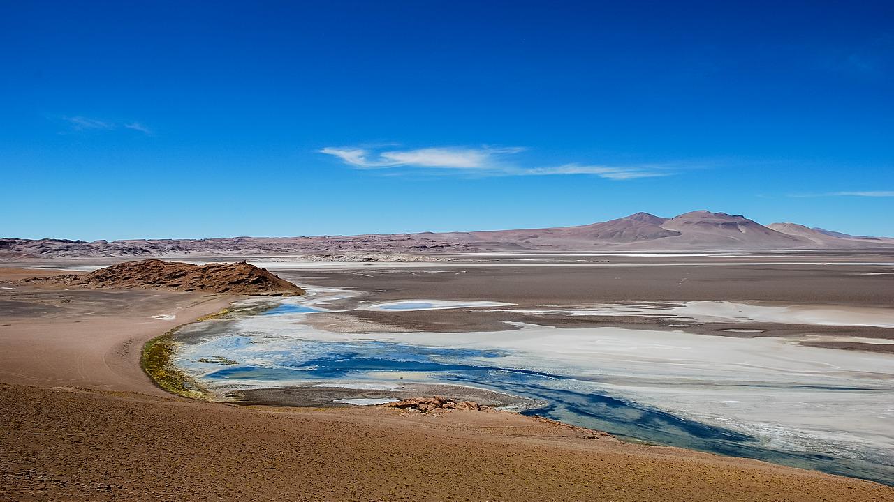 Altiplano laguna