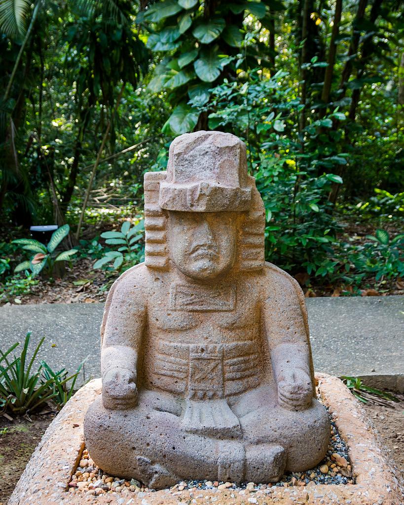 Olmecka rzeźba w La Venta