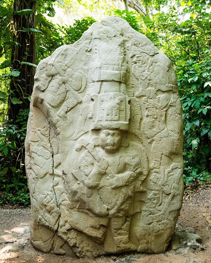 Rzeźba Olmeków La Venta