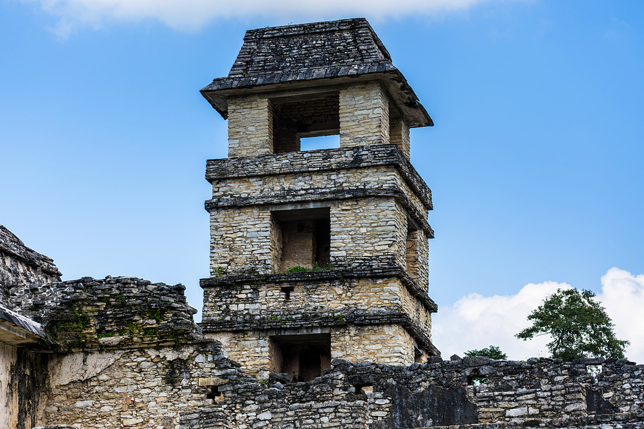 Palenque obserwatorium astronomiczne w Pałacu