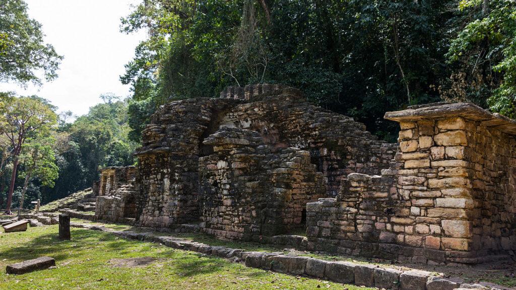 Yaxchilan ruiny