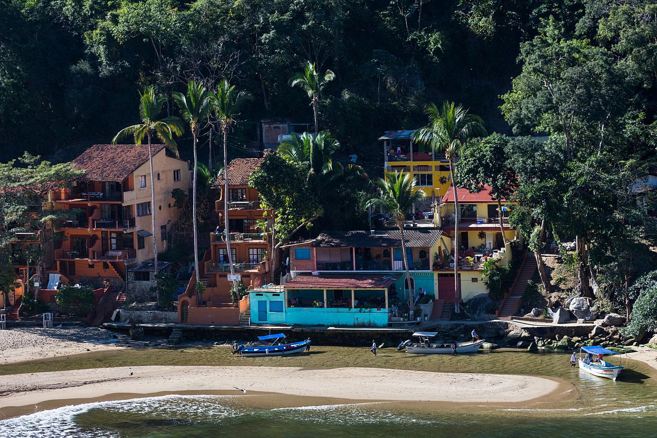 Zatoczka w Boca De Tomatlan