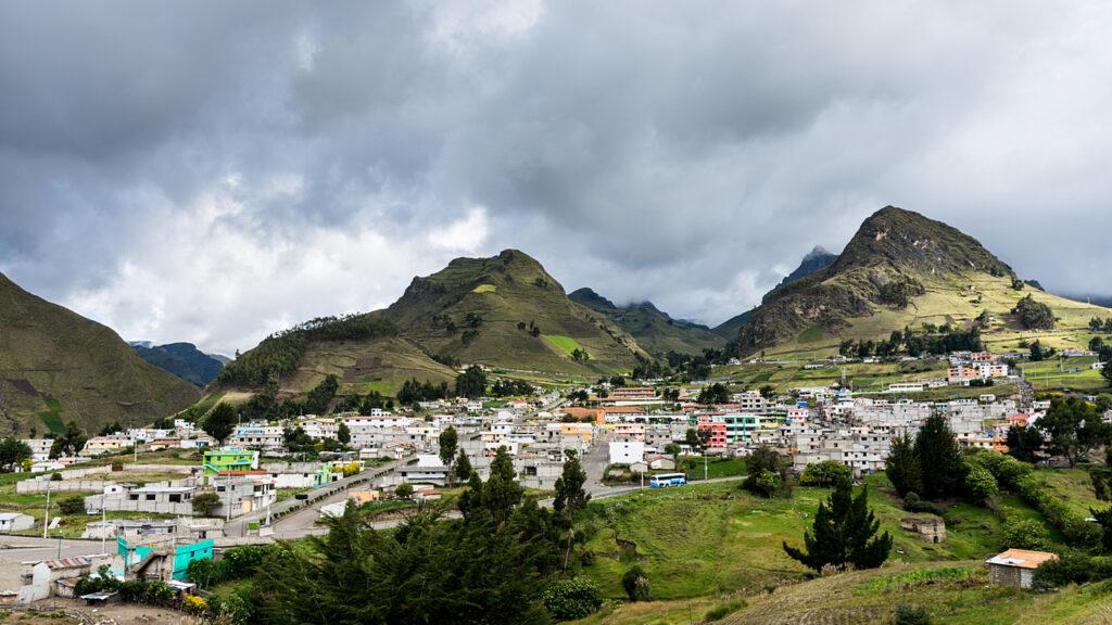 Ekwadorskie miasteczko
