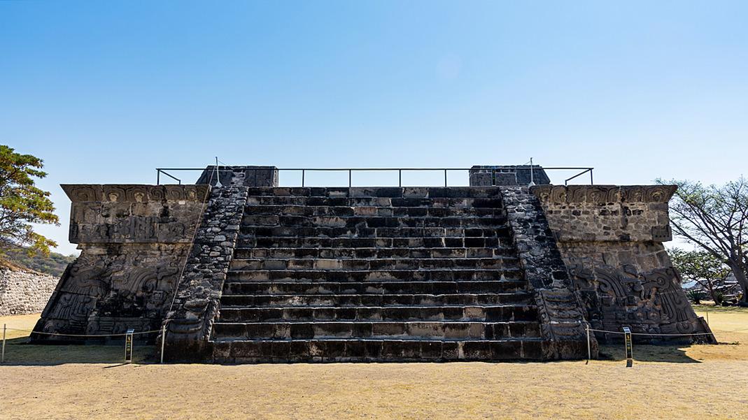 Xochicalco Piramida Pierzastego Węża