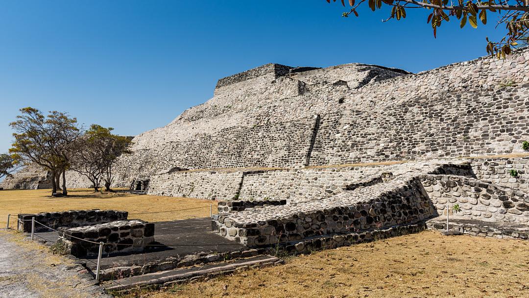 Xochicalco kompleks wschodni łaźnie