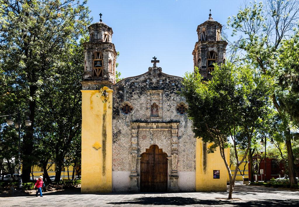 """Kościół """"La Conchita"""" w La Concepción"""