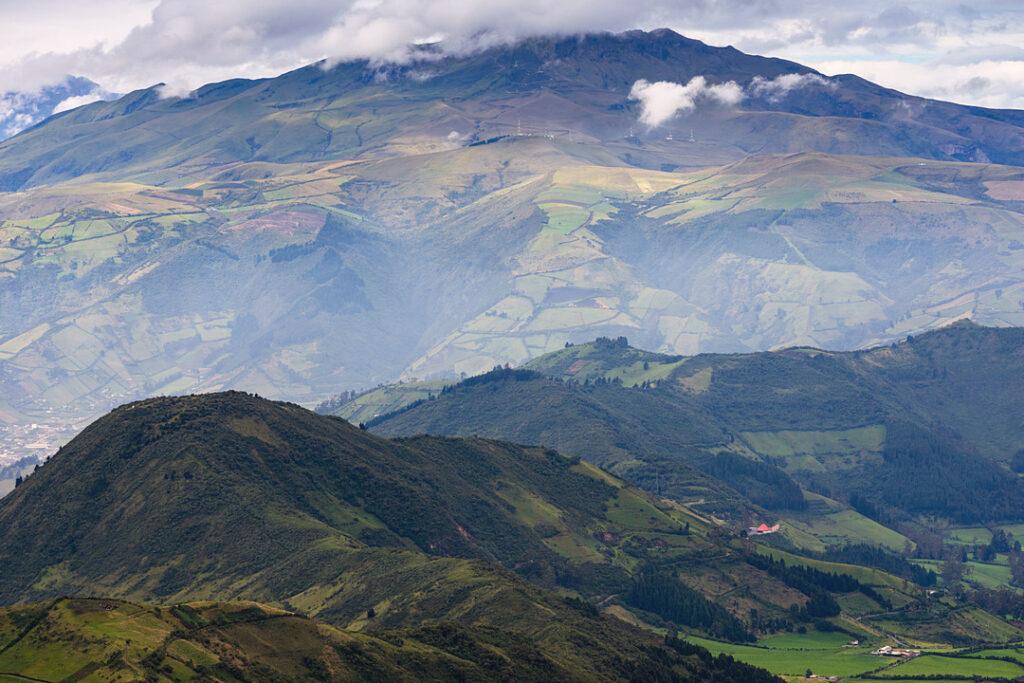 Widok z Pichinchia