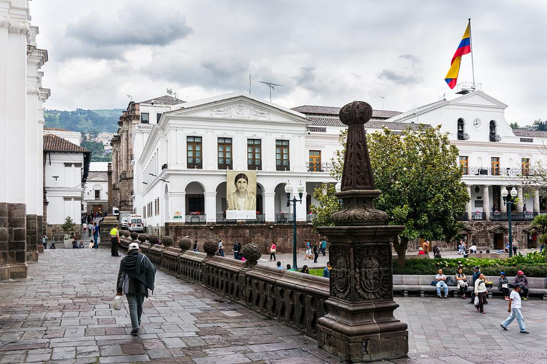 Pałac Prezydencki na Plaza Grande