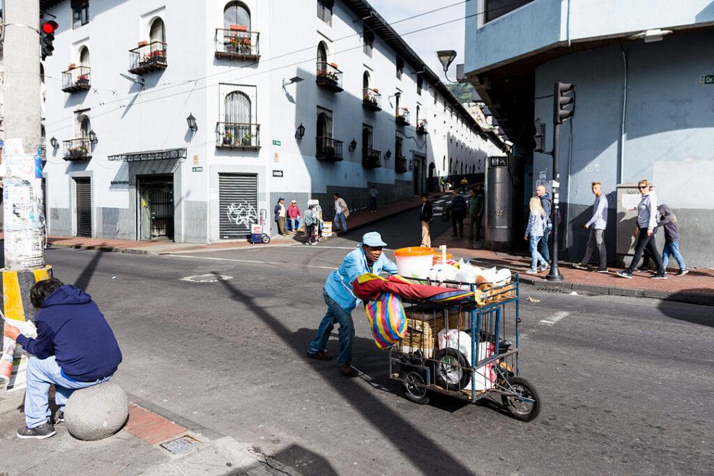 Codzienne życie w Quito