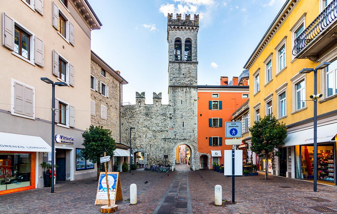 Riva del Garda, średniowieczna brama miejska