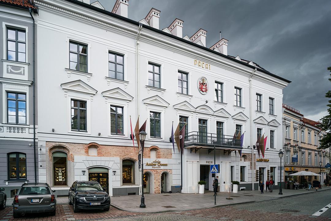 Hotel Pacai w dawnym pałacu Paców