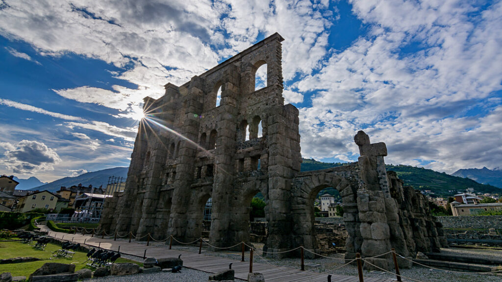 Aosta, rzymskie ruiny