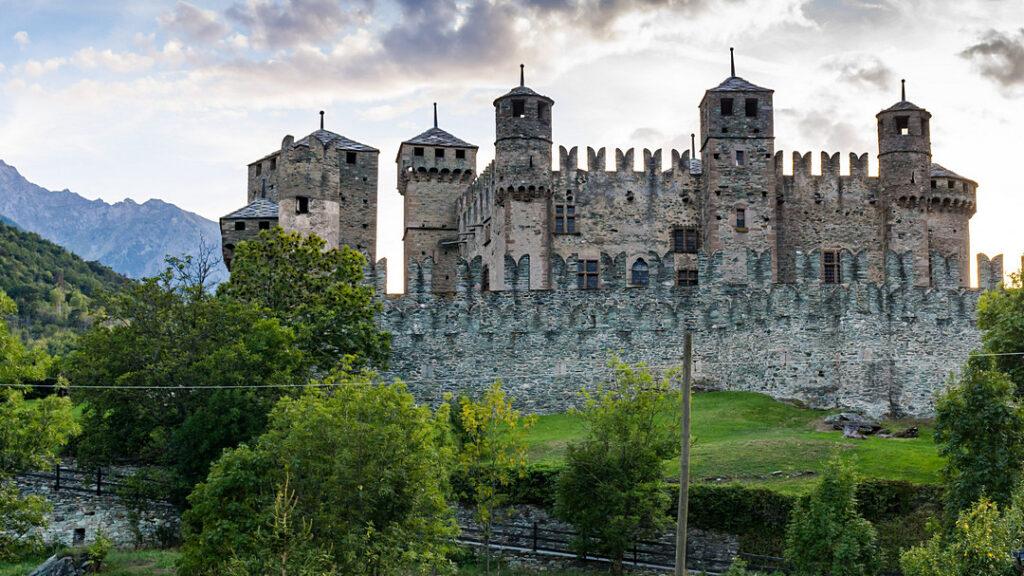 Zamki Doliny Aosty