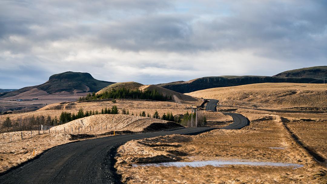 W drodze do Fjaðrárgljúfur