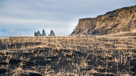 Czarna plaża w Vik