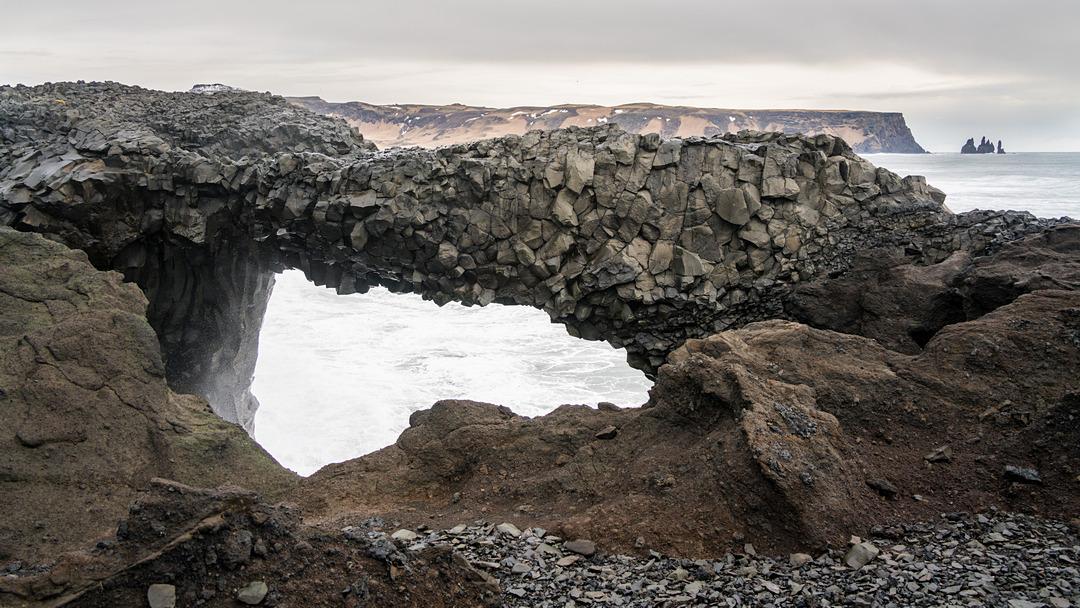 Kamienny łuk Dyrhólaey